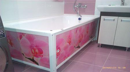Экран для ванны
