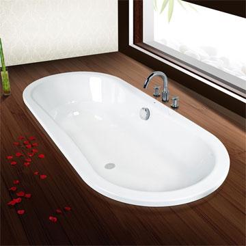 Наливная ванна, как один из видов восстановительных работ