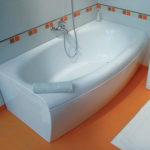 Покрытие ванны наливным акрилом – блестящее решение